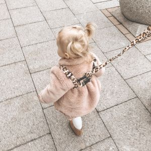 Exploring the streets | Leopard Print Baby Reins