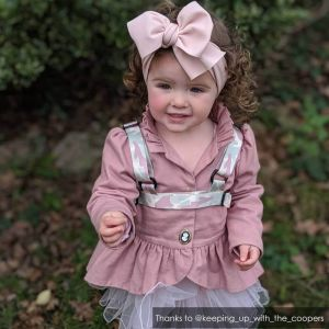 Bow with Camo | Camouflage ONK Baby Reins | @keeping_up_with_the_coopers