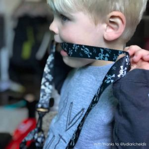 Testing, Testing, 1-2-3 | Unique Pirate Baby Reins by ONK | Thanks to @lydiaricheldis