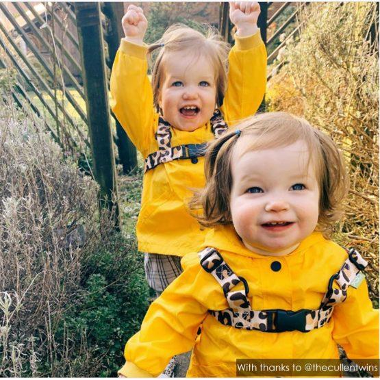 The Cullen Twins   Leopard Print Reins